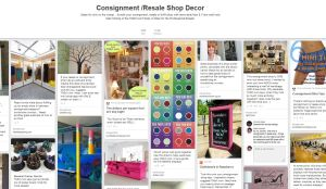 TGtbT.com uses Pinterest to prompt resale shopkeepers to visit the Products for the Professional Resaler Shop online.