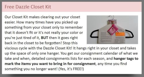 A consignment shop idea from the TGtbT.com blog