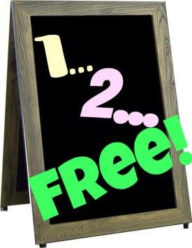 The 1-2-FREE sale idea from TGtbT.com