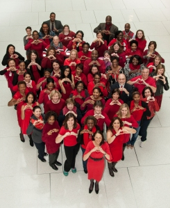 National Wear Red Day is a natural for consignment & resale shops, says Kate Holmes of TGtbT.com