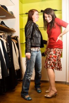 Making the shopping experience an experience in resale and consignment shops