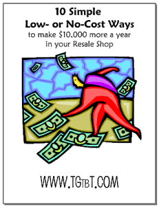 10 Simple Ways to Make $10,000 More in your Resale Shop