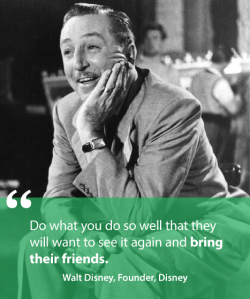 Make their experience a WOWster, says Walt Disney. And Kate Holmes of TGtbT.com