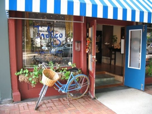 Store front with bike