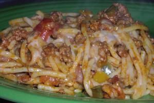 TGtbT.com's Smokehouse Spaghetti recipe