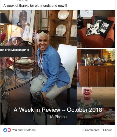 A perfecr consignment shop Facebook Album