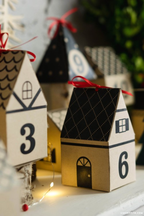 Advent calendar of houses on TGtbT.com