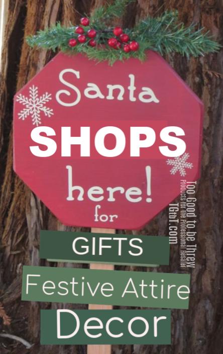 Santa shops resale of course!