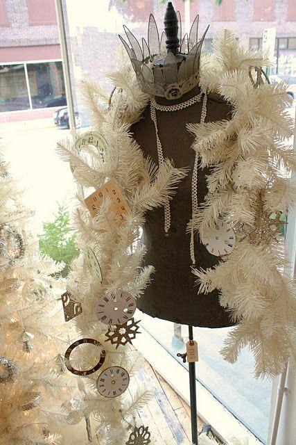 Snow Queen Dress Form from TGtbT.com