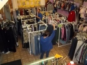 Consignment shops must not be too crowded or nothing will sell, says Kate Holmes of TGtbT.com